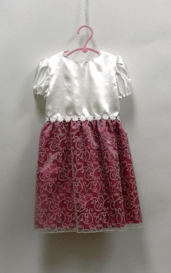 8491 GIRL PARTY DRESS
