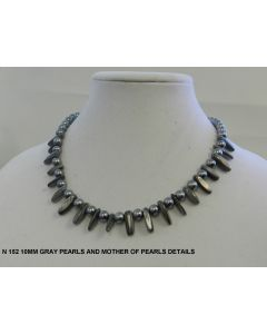 N 152 GRAY PERLS