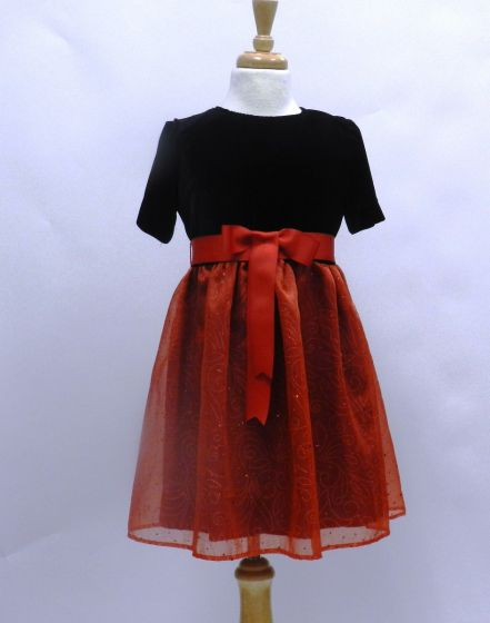 8472 GIRL PARTY DRESS